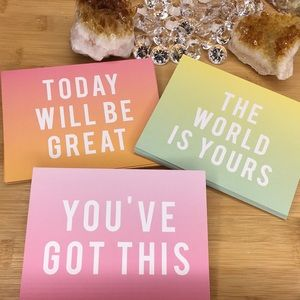 Other - Inspirational Notecards 30 Packs
